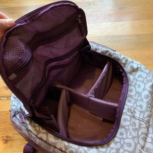 Thirty-One Bags - Thirty-One Organizing BackPack in Cheetah print